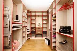 Дизайн гардеробной комнаты - различные варианты хранения
