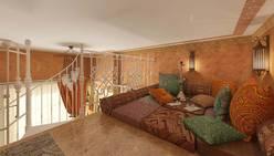 Дизайн комнаты 16 кв.м. - комната отдыха