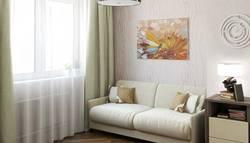Интерьер маленькой комнаты для няни