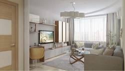 Дизайн гостиной 18 кв.м. - сочетание цветов