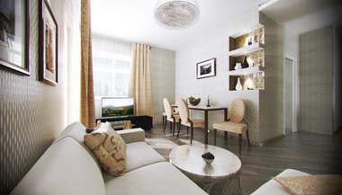 Дизайн трехкомнатной квартиры, Старый Арбат