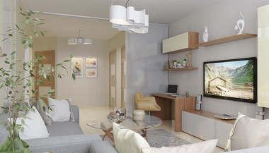 Дизайн и перепланировка 3-комнатной квартиры в Реутове