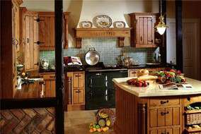Дизайн кухни своими руками в стиле кантри