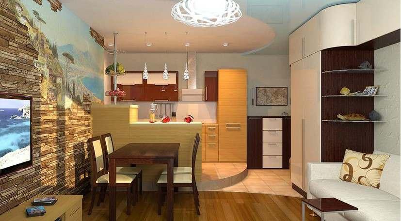Дизайн кухни 6 кв.м. - 1