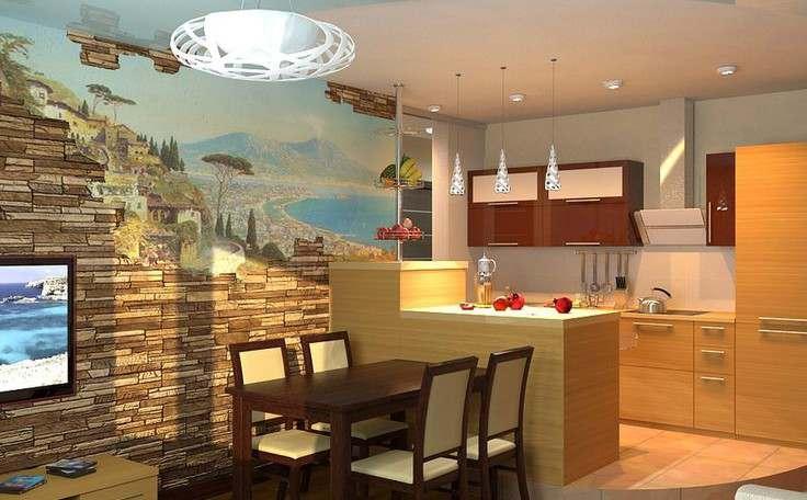 Дизайн кухни 6 кв.м. - 2