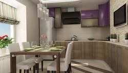 Дизайн угловой кухни в п. Развилка