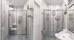 Дизайн маленькой ванной комнаты в таунхаусе