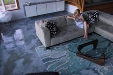 3D наливной пол в квартире