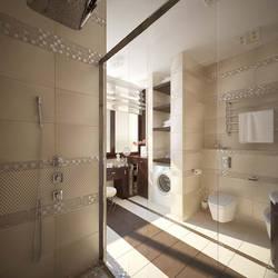 Дизайн ванной комнаты, п. Павлово