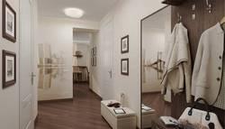 Дизайн прихожей и коридора в квартире, ЖК Богородский