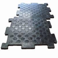 Напольные плиты из резины