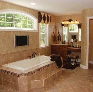 интерьер ванной комнаты в картинках - 1