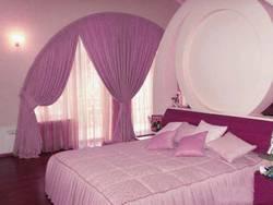 дизайн итальянских штор для спальни