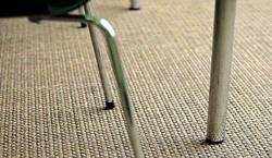 Фактура и плетение сизалевого покрытия