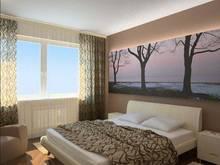 Дизайн спальни в хрущевке - фотообои