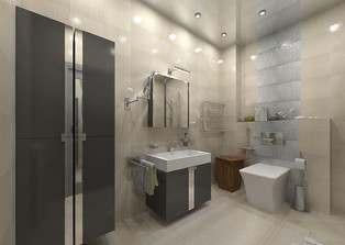 интерьер ванной комнаты в картинках в стиле хай-тек