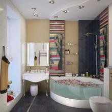 дизайн туалетной комнаты в таунхаусе