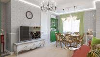 Проект трехкомнатной квартиры в ЖК Union Park