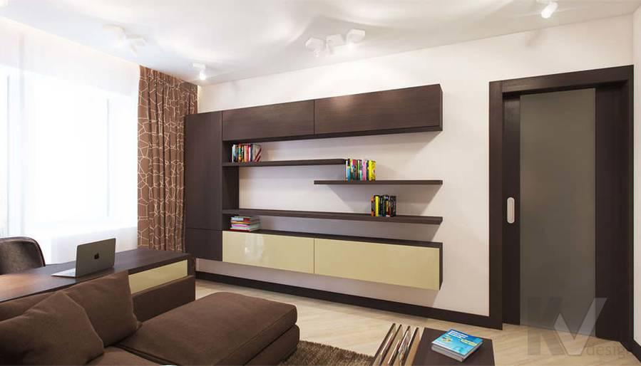 дизайн гостиной в квартире П-3М, Владыкино - 3