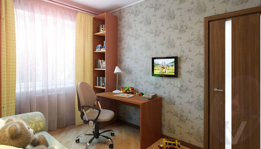 Дизайн детской в 2-комнатной квартире - 2