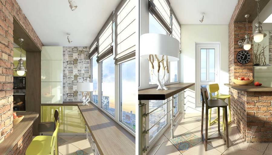 Дизайн кухни в 2-комнатной квартире - 4