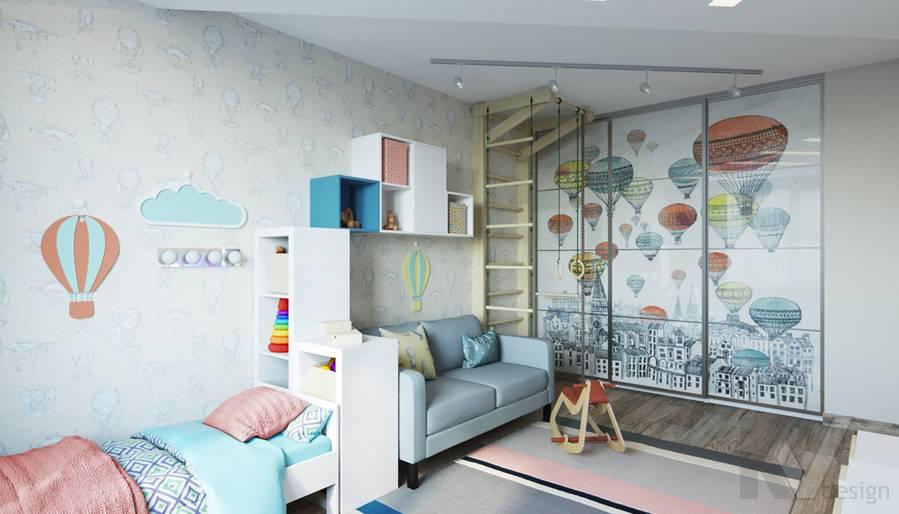 дизайн детской в 3-комнатной квартире, Welton Park - 4
