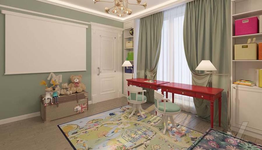 Дизайн игровой комнаты в доме, КП «Парк Авеню» - 3