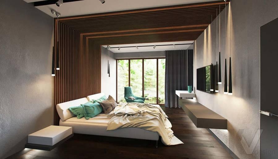 """Дизайн спальни в доме,  КП """"Западная Долина"""" - 5"""