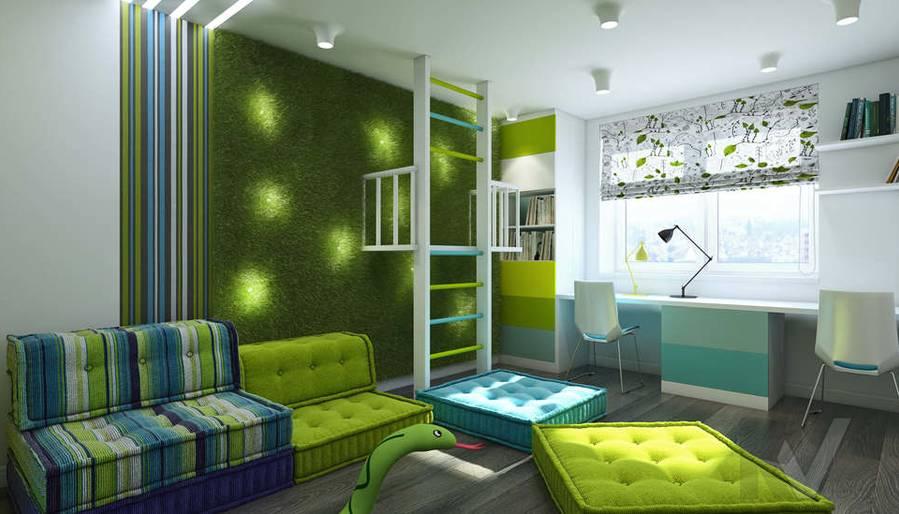 Дизайн игровой комнаты в 5-комнатной квартире, Климовск - 1