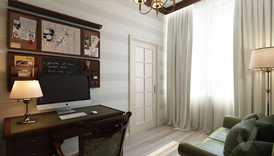 """Дизайн кабинета в 2-комнатной квартире, ЖК """"Авеню 77"""" - 3"""