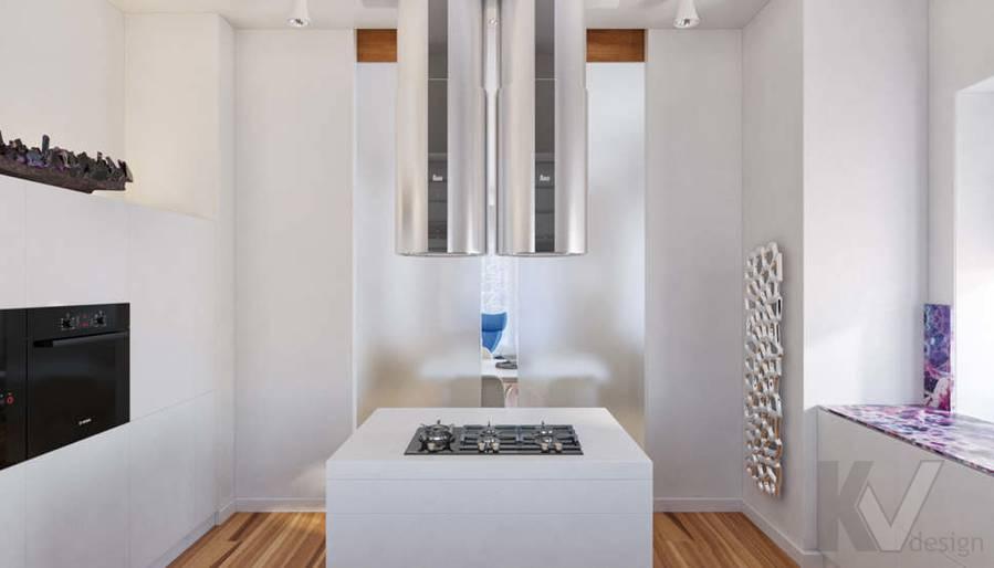 Дизайн кухни в доме, КП Пестово - 5