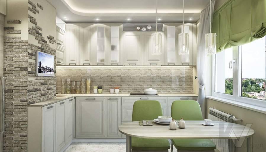 дизайн кухни серии П-3, Новое Ясенево - 4