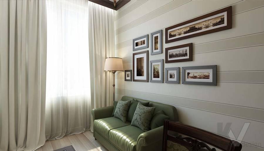 """Дизайн кабинета в 2-комнатной квартире, ЖК """"Авеню 77"""" - 2"""