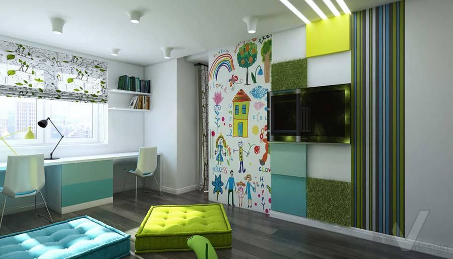 Дизайн игровой комнаты в 5-комнатной квартире, Климовск - 2