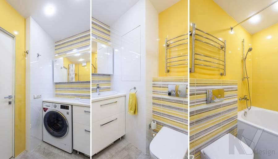 Фото ванной комнаты на проспекте Вернадского - 1