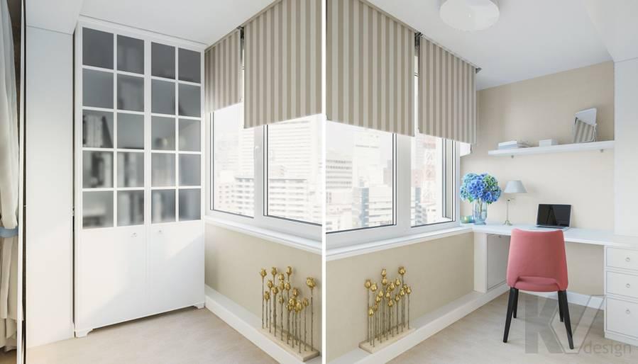 Дизайн спальни в квартире П-44Т, Переделкино Ближнее - 3