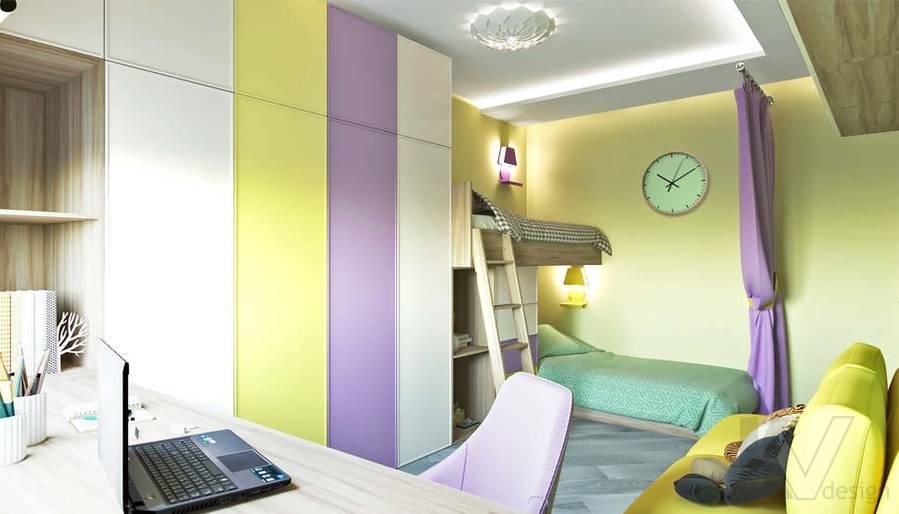 дизайн детской в 3-комнатной квартире, Войковская - 4