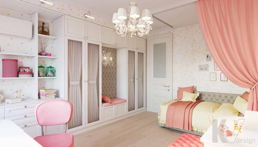 Детская комната в квартире в ЖК Union Park - 4
