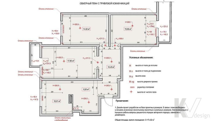 планировка квартиры, серия П-3М, Юго-Западная