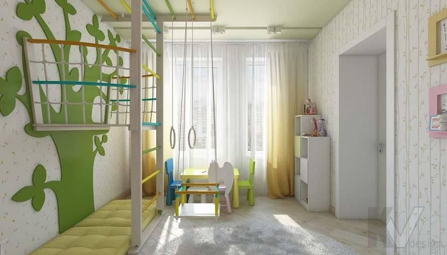 Дизайн детской в 2-комнатной квартире в Мытищах - 1