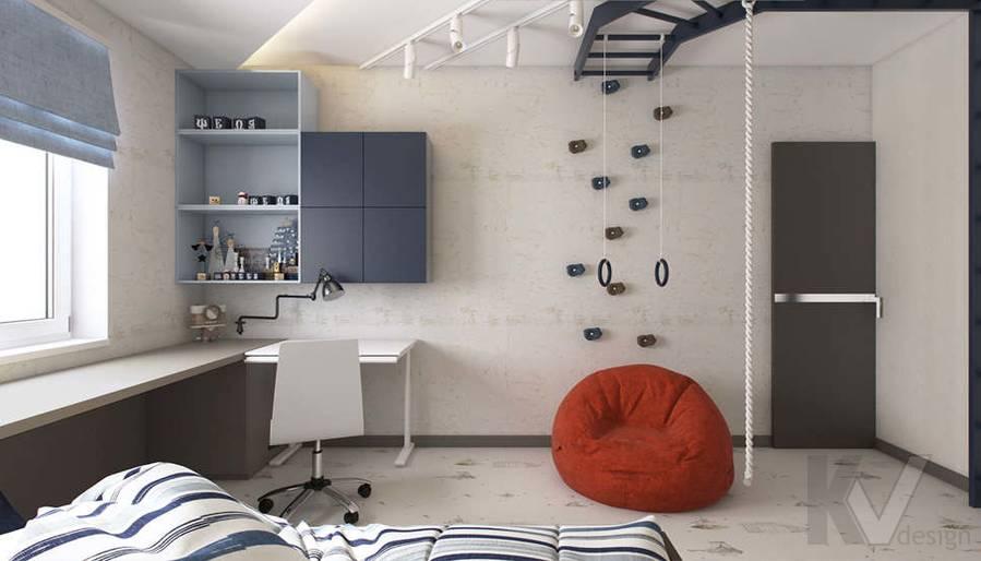 Дизайн детской в 3-комнатной квартире П-3М, Новое Ясенево - 5