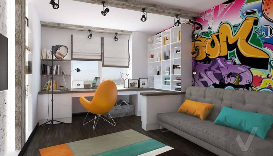 Дизайн комнаты мальчика в 5-комнатной квартире, Климовск - 1