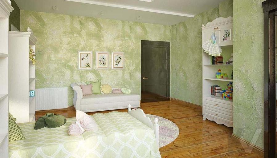 Декорирование квартиры в ЖК Квартал, детская - 4