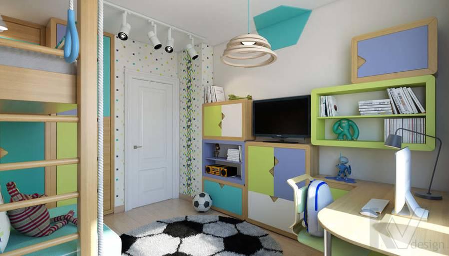 дизайн детской в 3-комнатной квартире, Новая Москва - 3