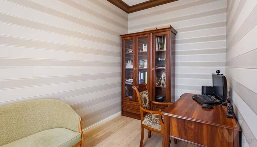 """Фотография кабинета в 2-комнатной квартире, ЖК """"Авеню 77"""""""