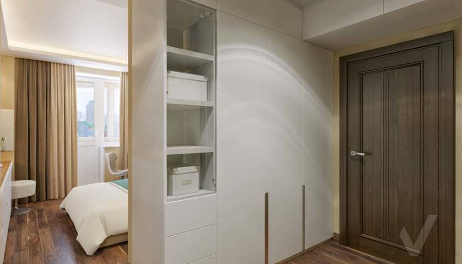 дизайн комнаты девушки в четырехкомнатной квартире П-3М - 2