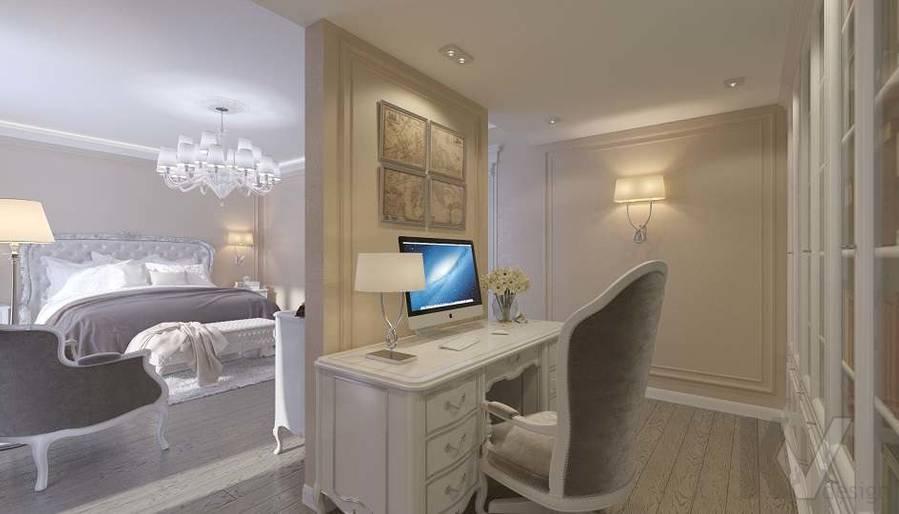 Дизайн спальни в доме, КП «Парк Авеню» - 6