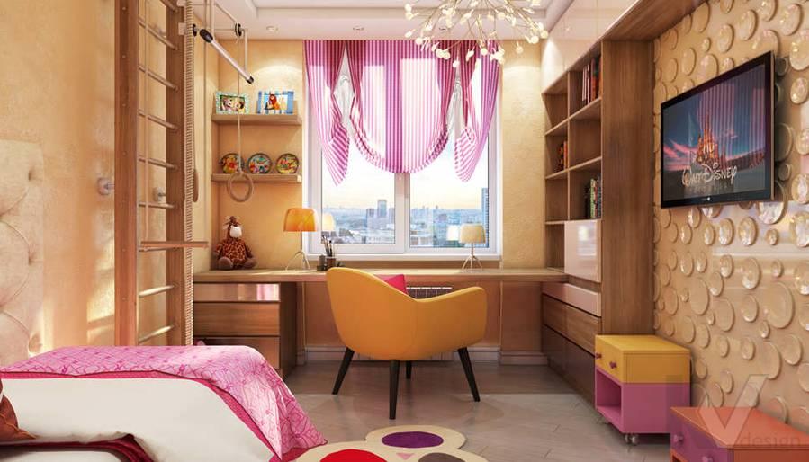 Дизайн детской в 2-комнатной квартире - 1