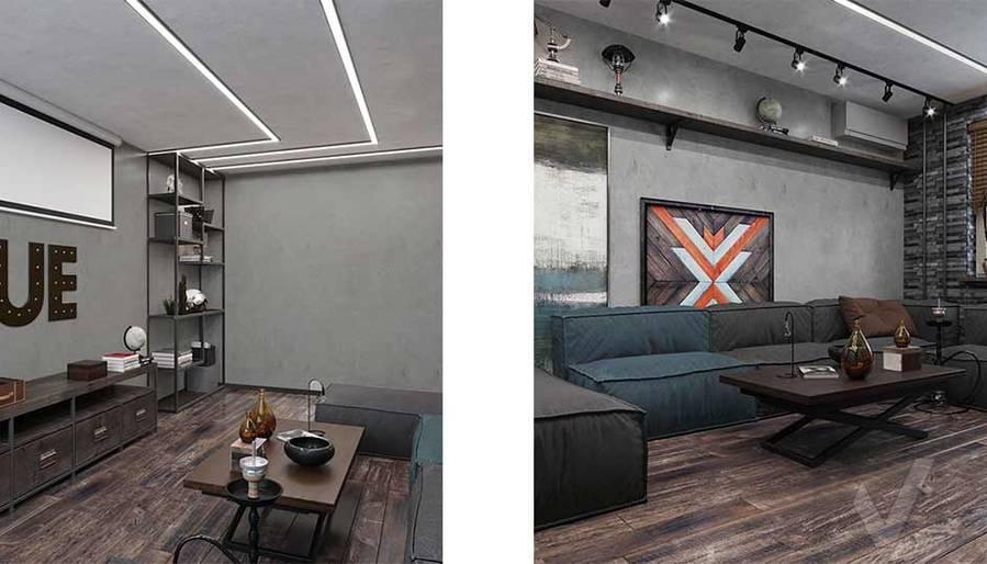 Дизайн гостиной в квартире П-44, м. Кузьминки - 5