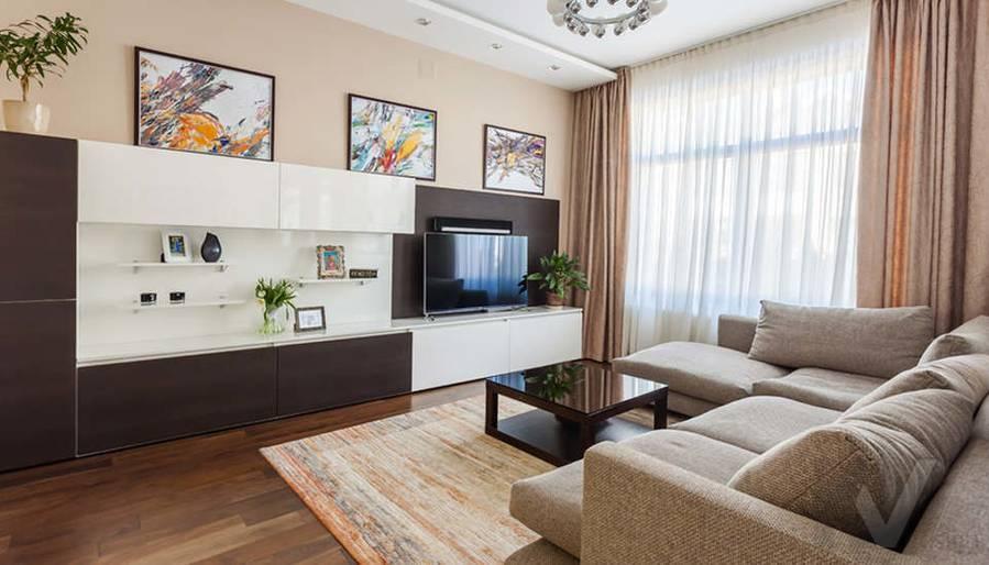 Фото гостиной в таунхаусе Павлово - 1